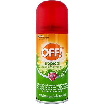 Odpuzovač hmyzu OFF! Tropical 100 ml (5000204645385)