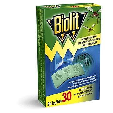 Odpuzovač hmyzu BIOLIT polštářky do elektrického odpařovače 30 ks (5000204919660)