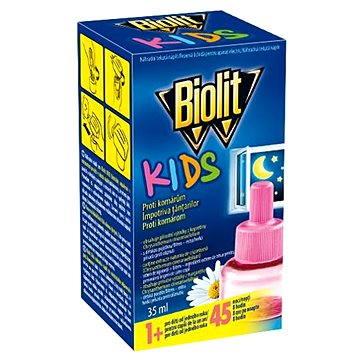 Odpuzovač hmyzu BIOLIT KIDS tekutá náplň do el.odpařovače 35 ml (8590005009464)