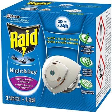 Odpuzovač hmyzu RAID proti komárům a mouchám odpařovač strojek + 1 náplň (5907635901267)