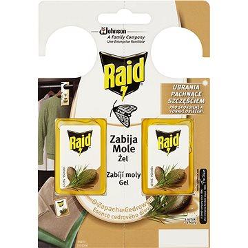 RAID proti molům s vůní cedru 2 ks (4000290902844)