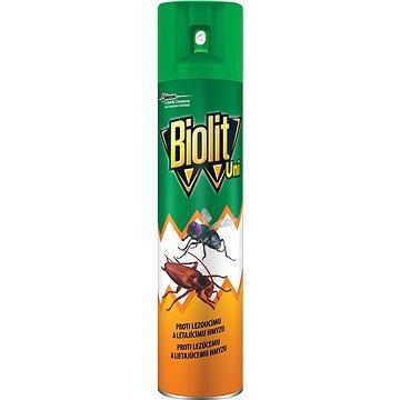 Odpuzovač hmyzu BIOLIT UNI 007 Sprej proti létajícímu a lezoucímu hmyzu 300 ml (5000204918618)