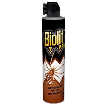 Odpuzovač hmyzu BIOLIT Plus sprej Stop pavoukům 400 ml (5000204918670)