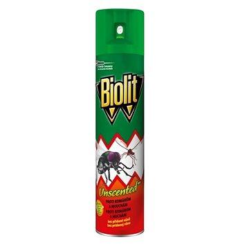 BIOLIT sprej proti létajícímu hmyzu bez parfemace 400 ml (5000204921250)