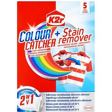 Prací sáčky K2R Colour catcher + Stain remover (5 ks) (9000101016437)