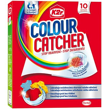 Prací ubrousky K2R Colour Catcher (10 ks) (9000101015959)