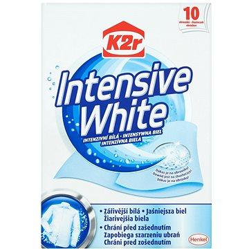 Ubrousky do pračky K2R Intensive White (10 ks) (9000101016253)
