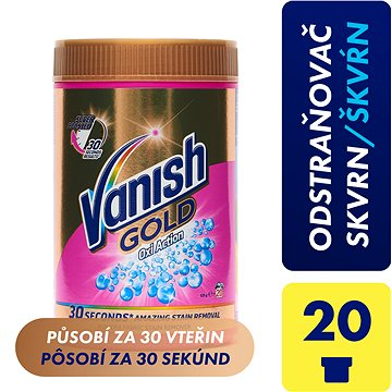 Odstraňovač skvrn VANISH Oxi Action Gold 0,625 kg (5997321747071)