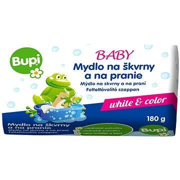 Odstraňovač skvrn BUPI Baby Mýdlo na skvrny a na praní 180 g (8585000745554)