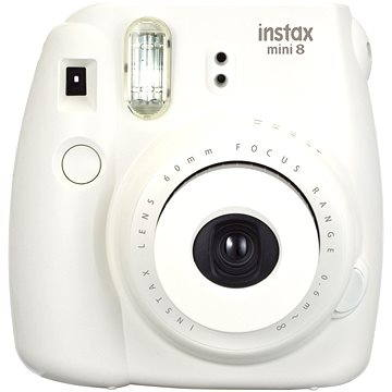 Fujifilm Instax Mini 8S Instant camera bílý Small Kit (70100134643)