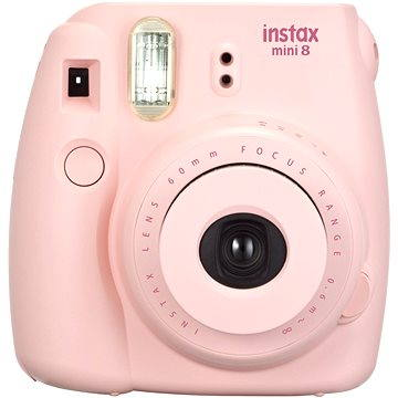 Fujifilm Instax Mini 8S Instant camera růžový Small Kit (70100134644)