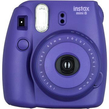 Fujifilm Instax Mini 8S Instant camera vínový Medium Kit (70100134649)