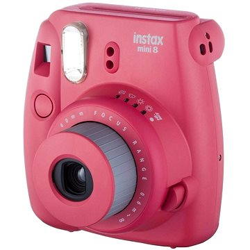 Fujifilm Instax Mini 8S Instant camera malinový (16443838)