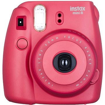 Fujifilm Instax Mini 8S Instant camera malinový Small Kit (70100134645)