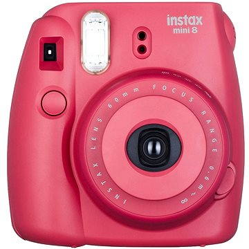 Fujifilm Instax Mini 8S Instant camera malinový Medium Kit (70100134648)