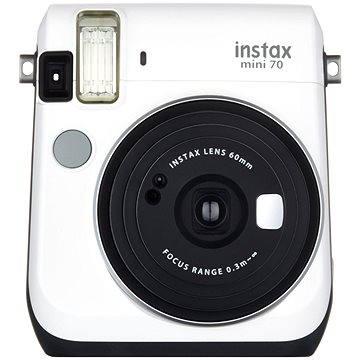 Fujifilm Instax Mini 70 bílý (16496031) + ZDARMA Fotopapír Fujifilm Instax mini film na 10 fotografií