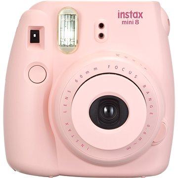 Fujifilm Instax Mini 8 růžový - Světluška Box (70100136079)