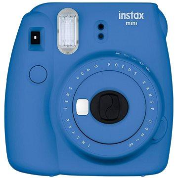 Fujifilm Instax Mini 9 tmavě modrý + film 1x10 + pouzdro (70100138443)