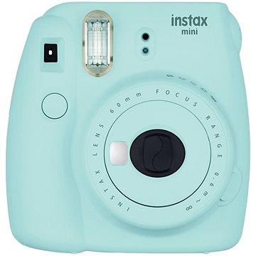 Fujifilm Instax Mini 9 světle modrý + film 1x10 (70100138447)