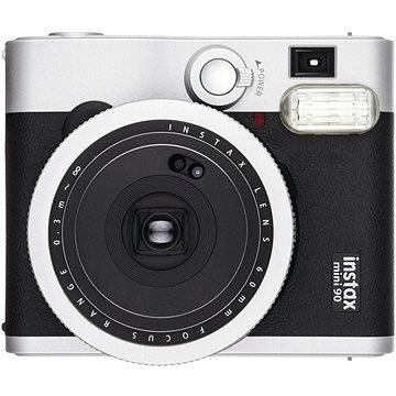 Fujifilm Instax Mini 90 černý + 10x fotopapír + pouzdro (70100141218)