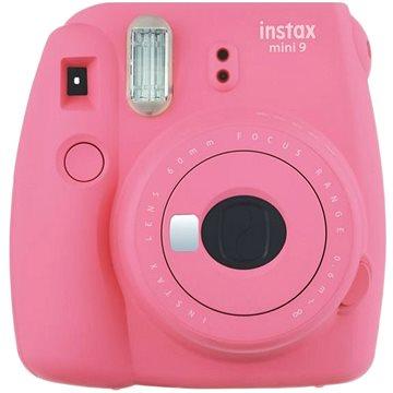 Fujifilm Instax Mini 9 růžový + film 1x10 (70100138448)
