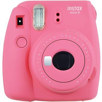 Fujifilm Instax Mini 9 růžový + film 1x10 + pouzdro (70100138439)