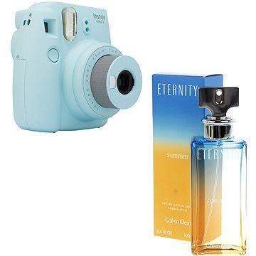 Fujifilm Instax Mini 9 světle modrý + CALVIN KLEIN Eternity Summer 2017 EdP 100 ml