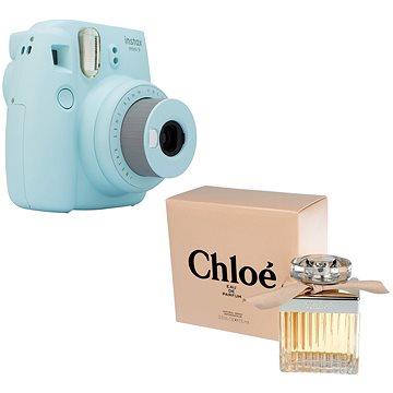 Fujifilm Instax Mini 9 světle modrý + CHLOÉ CHLOÉ EdP 75 ml