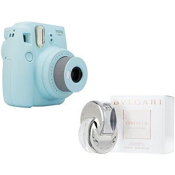 Fujifilm Instax Mini 9 světle modrý + BVLGARI Omnia Crystalline EdT 65 ml
