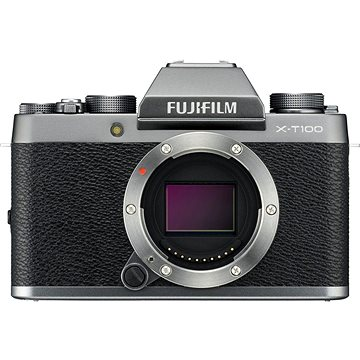 Fujifilm X-T100 tělo stříbrný