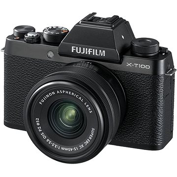 Fujifilm X-T100 černý + XC 15-45mm f/3.5-5.6 OIS PZ (16582892)
