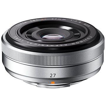 Fujifilm Fujinon XF 27mm f/2.8 stříbrný (16401581)