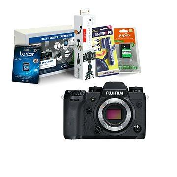 Fujifilm X-H1 tělo černý + Fujifilm Foto Starter Kit