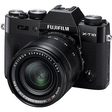 Fujifilm X-T10 Black + objektiv XF18-55mm (16470881)