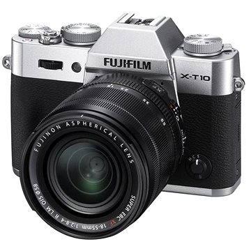 Fujifilm X-T10 Silver + objektiv XF18-55mm (16471457)