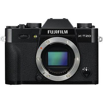 Fujifilm X-T20 tělo černý (16542555) + ZDARMA Ministativ MANFROTTO MTPIXI-B PIXI černý Paměťová karta SanDisk SDHC 32GB Ultra Class 10 UHS-I