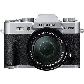 Fujifilm X-T20 stříbrný + XC16-50mm F3.5-5.6 OIS II (16542945)