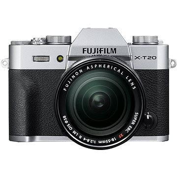 Fujifilm X-T20 stříbrný + XF 18-55mm F 2.8-4 R LM OIS (16542684)