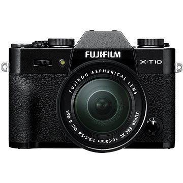 Fujifilm X-T10 Black + objektiv XC16-50mm (16470697)