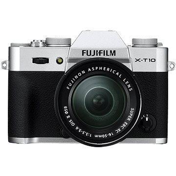 Fujifilm X-T10 Silver + objektiv XC16-50mm (16471263)