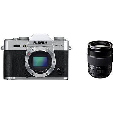 Fujifilm X-T10 Silver + objektiv XF18-135mm (16498675)
