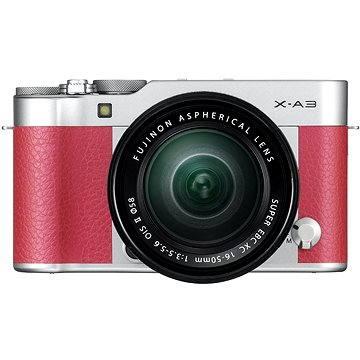 Fujifilm X-A3 růžový + 16-50mm II (16531714)