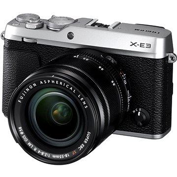 Fujifilm X-E3 stříbrný + XF 18-55mm (16558724)