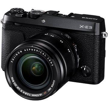 Fujifilm X-E3 černý + XF 18-55mm (16558853)
