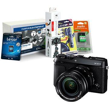 Fujifilm X-E3 černý + XF 18-55mm + Fujifilm Foto Starter Kit