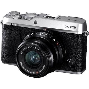 Fujifilm X-E3 stříbrný + XF 23mm (16558982)