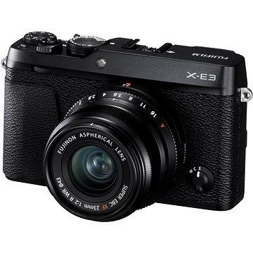 Fujifilm X-E3 černý + XF 23mm (16559118)