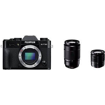 Fujifilm X-T10 Black + objektivy XC16-50mm + XC50-230mm (16470506)