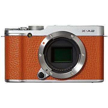 Fujifilm X-A2 Brown (16455221) + ZDARMA Brašna na fotoaparát Lowepro Format 110 černý