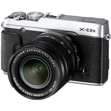 Fujifilm X-E2s silver + objektiv XF 18-55mm (16499203) + ZDARMA Brašna na fotoaparát Lowepro Format 110 černý